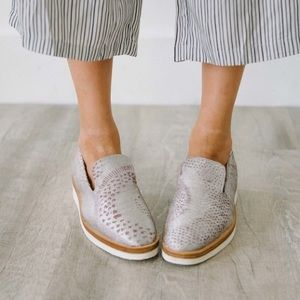 Free People Snake Eye Loafers